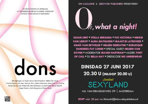 Winactie: Oh, What a Night! (27 juni)